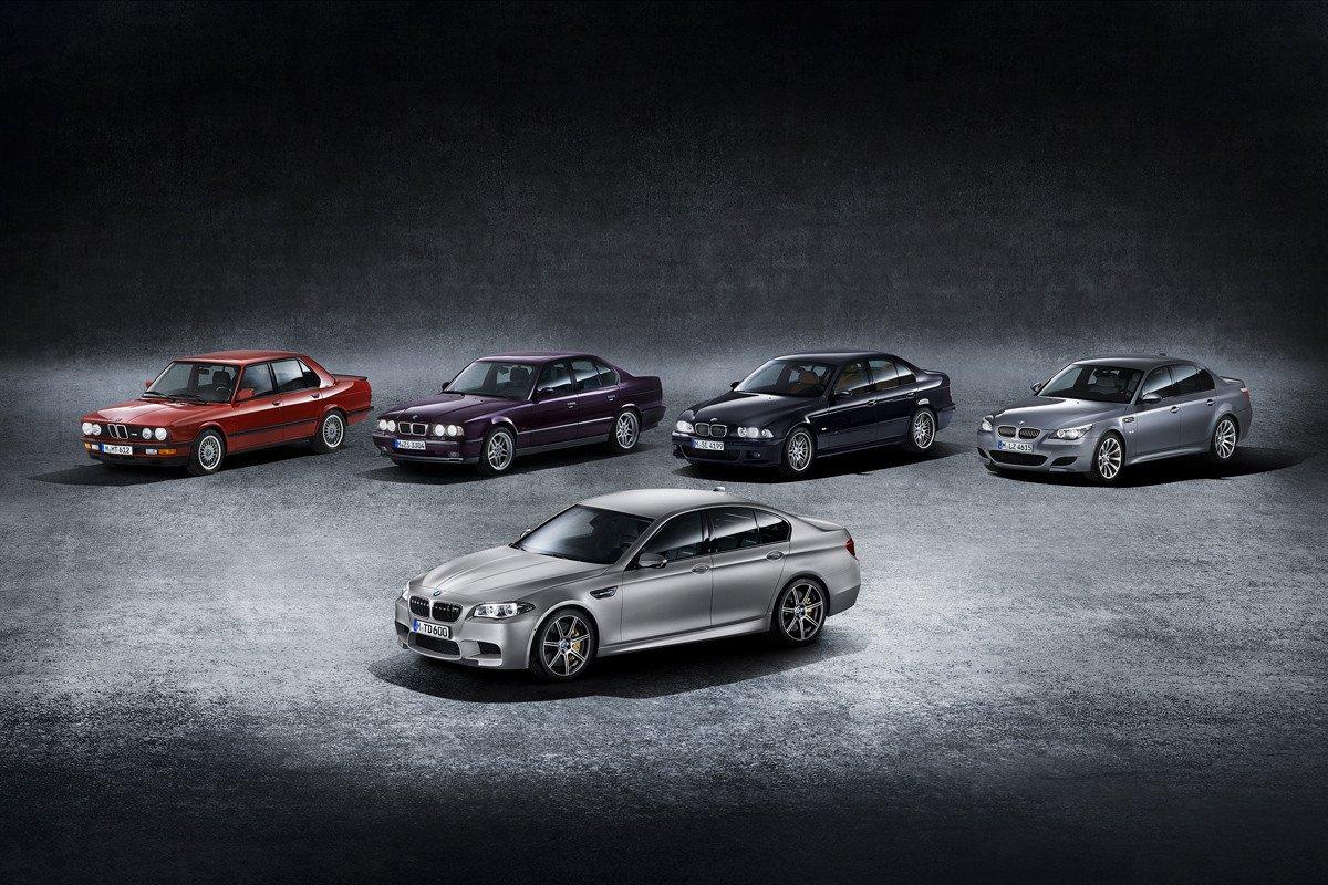 LA HISTORIA DEL BMW M5